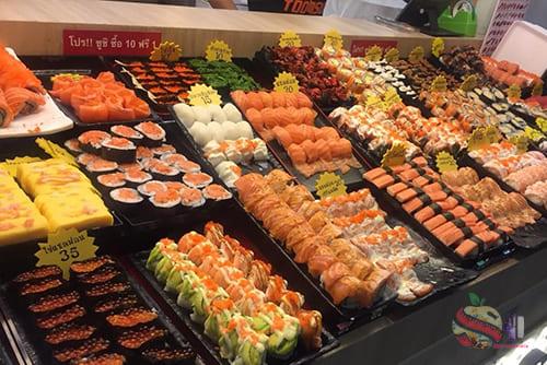 ตุ้มซูชิ เสรีมาร์เก็ต2 - Tum Sushi Seri市场