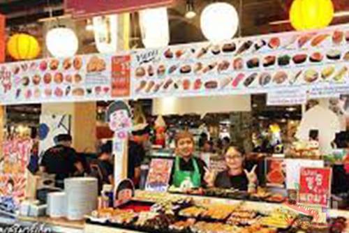 01.01รีวิวร้านอาหาร 11 - Tum Sushi Seri 市场