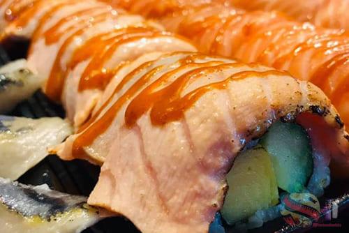 01.01รีวิวร้านอาหาร 12 - Tum Sushi Seri 市场