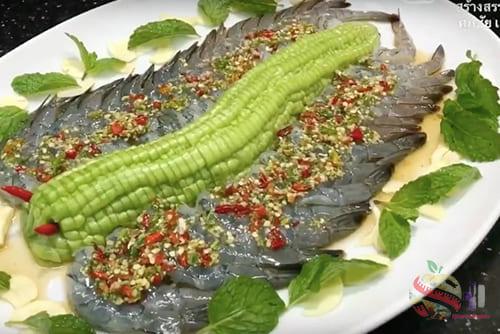 056.6 อาหาร1 - 如何用辣酱煮鱼露虾